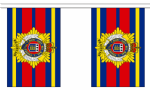 ROYAL LOGISTICS CORPS BUNTING - 3 METRES 10 FLAGS